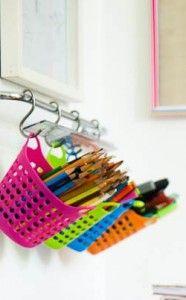 Idéias criativas para guardar lápis de cores e mais! » Gemelares