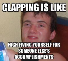 What Clapping Is All About