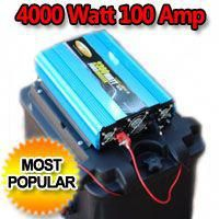 Solar Powered Generator 100 Amp 4000 Watt Solar Generator Just Plug And Play Solar Powered Generator Solar Generator Best Solar Panels
