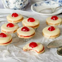Traditional Scottish cookies, these Empire Biscuits are melt-in-your-mouth. Delish!