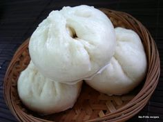 No-Frills Recipes ... cooking, baking & excerpts on travel: Steamed Bun ~ Pau