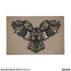 Beautiful Rustic Owl