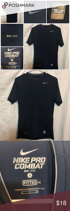 7d3fbebe Nike Pro Combat DriFit Fitted size small Like new short sleeve tee from Nike  size small