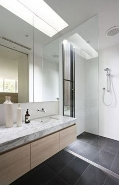 39 dark grey bathroom floor tiles ideas and pictures Grey Bathroom Floor, Wood Bathroom, Bathroom Renos, Grey Bathrooms, Laundry In Bathroom, Bathroom Layout, Bathroom Flooring, Bathroom Interior, Small Bathroom