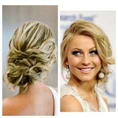 Love this. Gonna try this with a head band for my daughters prom this weekend!!: