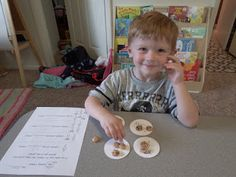 The most amazing lesson for introducing dividing to young kids. Great lesson with a great story: The Doorbell Rang. Chipman's Corner Preschool: C is for Sharing Cookies