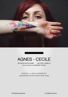 agnes cecile - artist class A pimp Silvia Pelissero, Agnes Cecile, B Tattoo, Street Art Graffiti, Life Tattoos, Contemporary Artists, Art Pictures, Body Painting, Cool Words