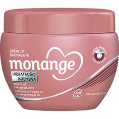 'Creme de cabelo da Monange, embalagem rosa. Maravilhoso pra cabelos com frizz e ressecados como o meu. Além de ser baratinho!' – Larissa SouzaAqui por R$ 5,49.