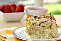 Eat Skinny: Baked French Toast Casserole with Ricotta