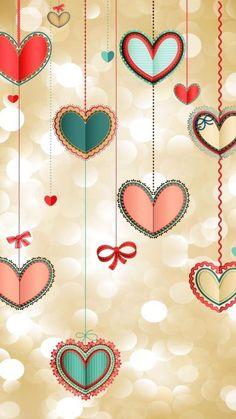 Heart wallpaper, wallpaper for your phone, cellphone wallpaper, mobile wall Wallpaper For Your Phone, Heart Wallpaper, Cellphone Wallpaper, Screen Wallpaper, Cute Backgrounds, Phone Backgrounds, Wallpaper Backgrounds, Wallpaper Patterns, Iphone Wallpapers