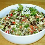 Gold Nugget Salad Recipe, really yummy blk. bean, corn, etc. mexican spiced salad
