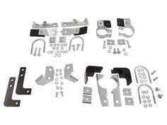 Corvette Cowl Vent Door Hinge (2 Pieces) - 1953-1962 Corvette Parts