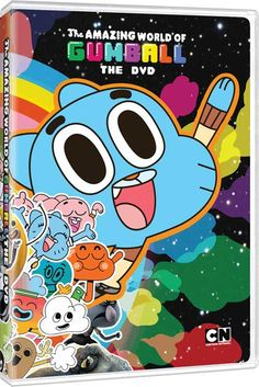 The Amazing World of Gumball - DVD Announced for the Cartoon Network Series