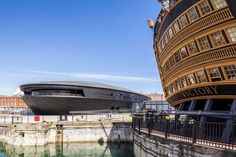 Mary Rose Museum by Wilkinson Eyre Architects, Portsmouth, United Kingdom