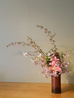 cherry blossom ikebana - Google Search