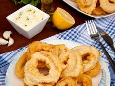 Inele de calamar pane in aluat cu bere - imagine 1 mare