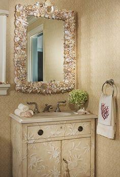 apró gyönyörűségek: Tenger ihlette fürdőszobák