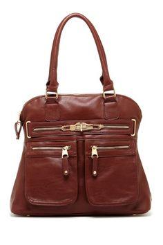 Segolene Zip Pocket Satchel by Must-Have Bags For Summer on @HauteLook