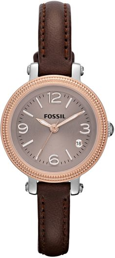 #Fossil #Watch , FOSSIL Heather Mini Three Hand Leather Watch Brown ES3138 i already have it!!!