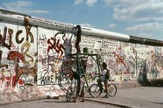 Writing on the Wall near PotsdamerPlatz, West Berlin, (West) Germany  (1989/319)