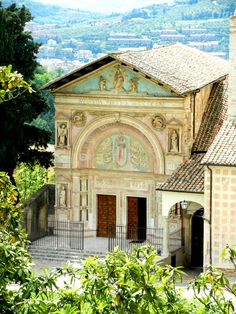 Oratory of Saint Bernadine in Perugia - Umbria, Italy