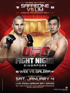 UFC Fight Night 34: Saffiedine vs. Lim Ergebnisse - Results