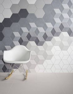 Geometric Falling Block Tile For Your Home | Domino