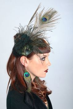 Peacock Plumage. $65.00, via Etsy. Legit love this.