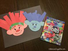 Trolls Family Movie Night Crafts