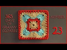 365 Days of Granny Squares Number 22 - YouTube