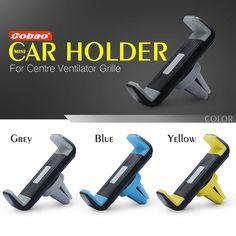 Cobao universele auto ontluchter houder 360 graden rotatie auto mobiele telefoon houder voor iphone 5 6 6 s galaxy s4 s5 s6
