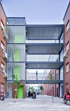 Galeria - Intervenção em Áreas Comuns de Edifícios de Interesse Social / Studio Af6 - 3