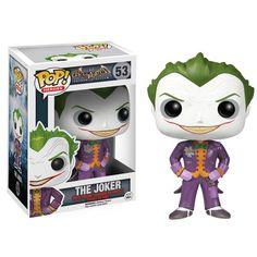 Batman Arkham Asylum The Joker Pop Vinyl Figure