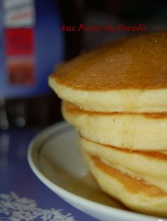 THE Pancakes comme au Canada My Recipes, Cooking Recipes, Favorite Recipes, Pancake Recipes, Beignets, Paleo, Recipe Boards, Pancakes And Waffles, Desert Recipes