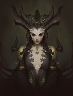 Character Portraits, Character Art, Character Design, Dark Creatures, Mythical Creatures, Fantasy Inspiration, Character Inspiration, Lilith Diablo, Lillith Goddess