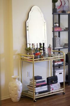 Devon Rachel: How To: Style & Sass-ify A Bar Cart