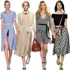 Shop the Spring Fashion Trend: Grown-Up Gingham - How to wear it  - from InStyle.com