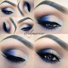 Beautiful makeup for a festival