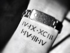22 Meilleures Images Du Tableau Tatouage Date Roman Numerals