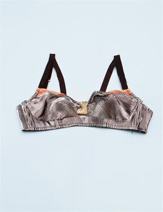 The Lake & Stars Miracle Box Bralette - Gold/Coral