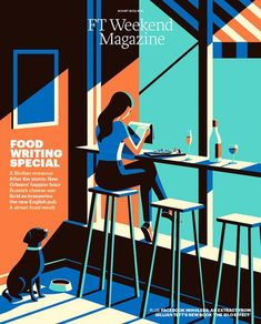Cover illustration Malika Favre New cover Financial Times FT Weekend Magazine: Creative consultant Mark Leeds Art director Paul Tansley Art Editor: Shannon Gibson PhotoEditor: Emma Bowkett Illustration Design Graphique, Art And Illustration, Illustrations And Posters, Magazine Illustration, Malika Fabre, Schrift Design, Arte Pop, Grafik Design, Silkscreen