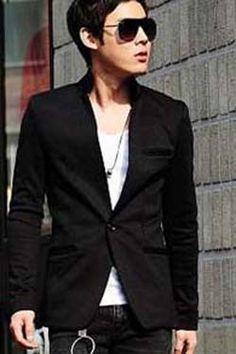 Blazer Korean Black Style