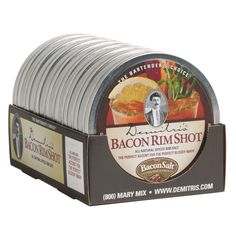 Demitri's 4 Ounce Bacon Rim Shot Bloody Mary Rim Salt, $11.49