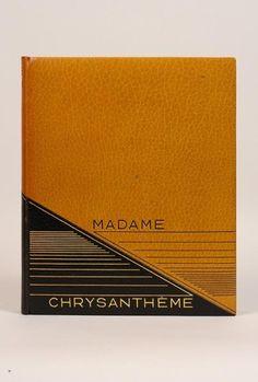 LOTI (Pierre)  Madame Chrysanthème. Paris, Éditions Excelsior, 1926.   Reliure:  André Jeanne.