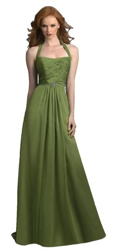 Bari Jay 209 Long Chiffon Halter Dress