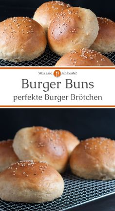 Burger Buns - What Do I Eat Today? - Finally a burger bun recipe that works really well and leads to a great result. Brioche buns are airy and have the typical slightly sweet taste. From now on, we only make our burger rolls ourselves. Bun's Burger, Vegan Burgers, Good Burger, Burger On Grill, Avocado Dessert, Ham Recipes, Vegan Recipes, Cooking Recipes, Smoker Recipes