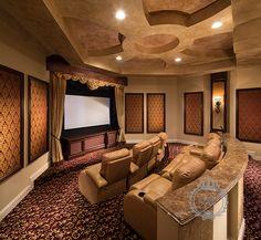 luxury home theater