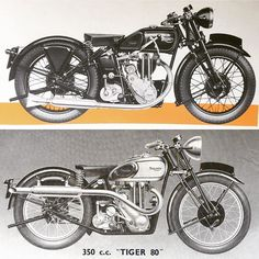 Triumph Motorcycles, Vintage Motorcycles, Triumph Tiger, Made In Uk, Will Turner, The Unit, Bike, War, British