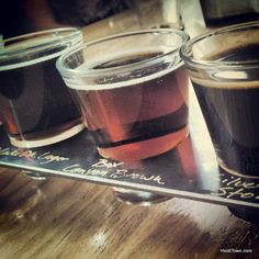 Taster tray @OurayBrewing in #Ouray, #Colorado. Learn more about this trip: http://www.heiditown.com/2013/04/17/an-itinerary-for-fun-in-ouray-colorado/