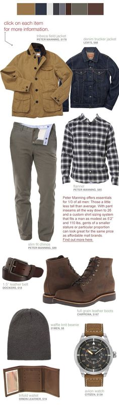 Autumn Layers in the City - Short Men Style Inspiration